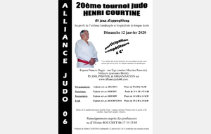 Tournoi Courtine - Vallauris